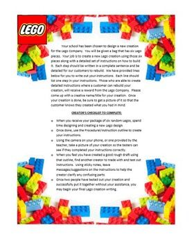 expository writing the great lego creation challenge metaphor of  expository writing the great lego creation challenge metaphor of how writing an essay is