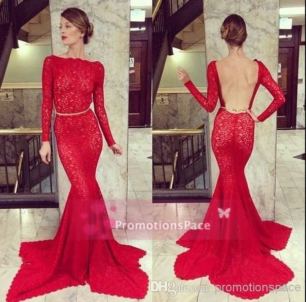 Cheap 2017 Elegant Burgundy Grape Mermaid Prom Dresses High Neck ...