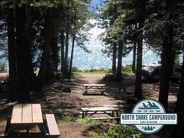 North Shore Campgrounds Lake Almanor Rv Site Camping