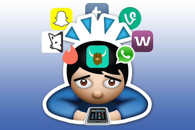 Set Emoticons Social Network Icons Set Stock Vector 369923528 ...