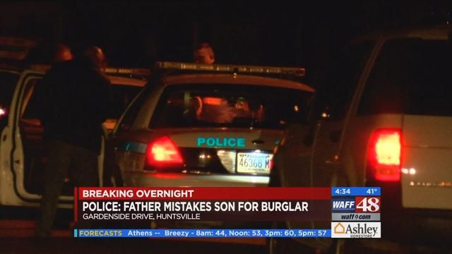 Mistaken for burglar by father, shot son expected to make full