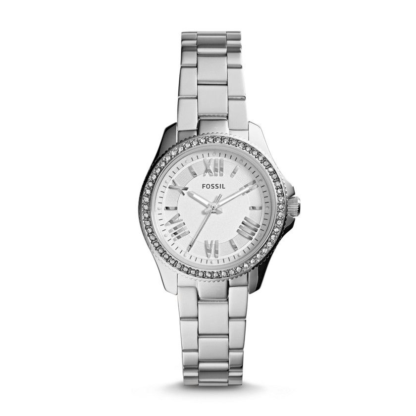 Fossil Cecile Small Three-Hand Stainless Steel Watch  ***adorabile***