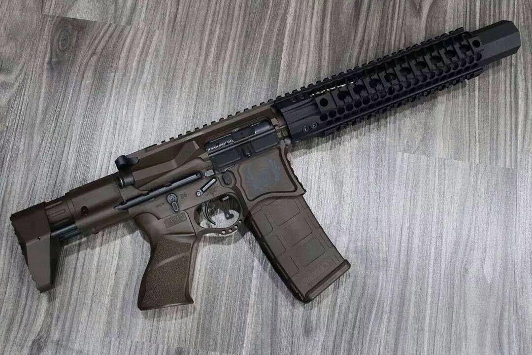 suppressed ar sbr seekins precision upper ar15 suppressor pistol 300 blackout build lower badger honey oss nea ccs buffer rifle