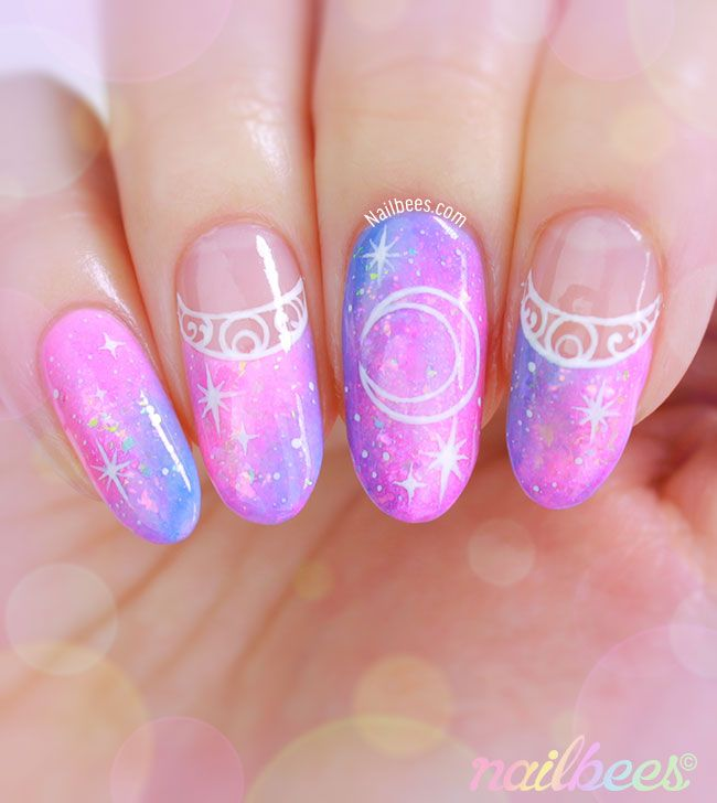 Sailor Moon Nail Art More - Sailor Moon Nail Art … Pinteres…