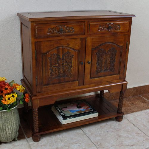 Awesome Hall Console Cabinet