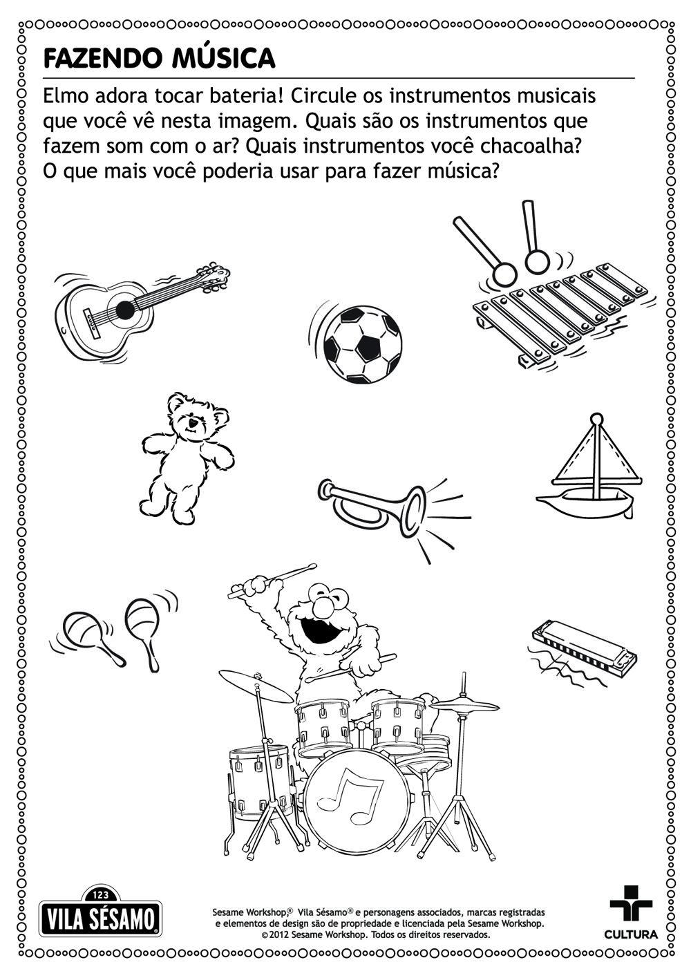 Resultado De Imagem Para Atividades Infantis Que Tenham