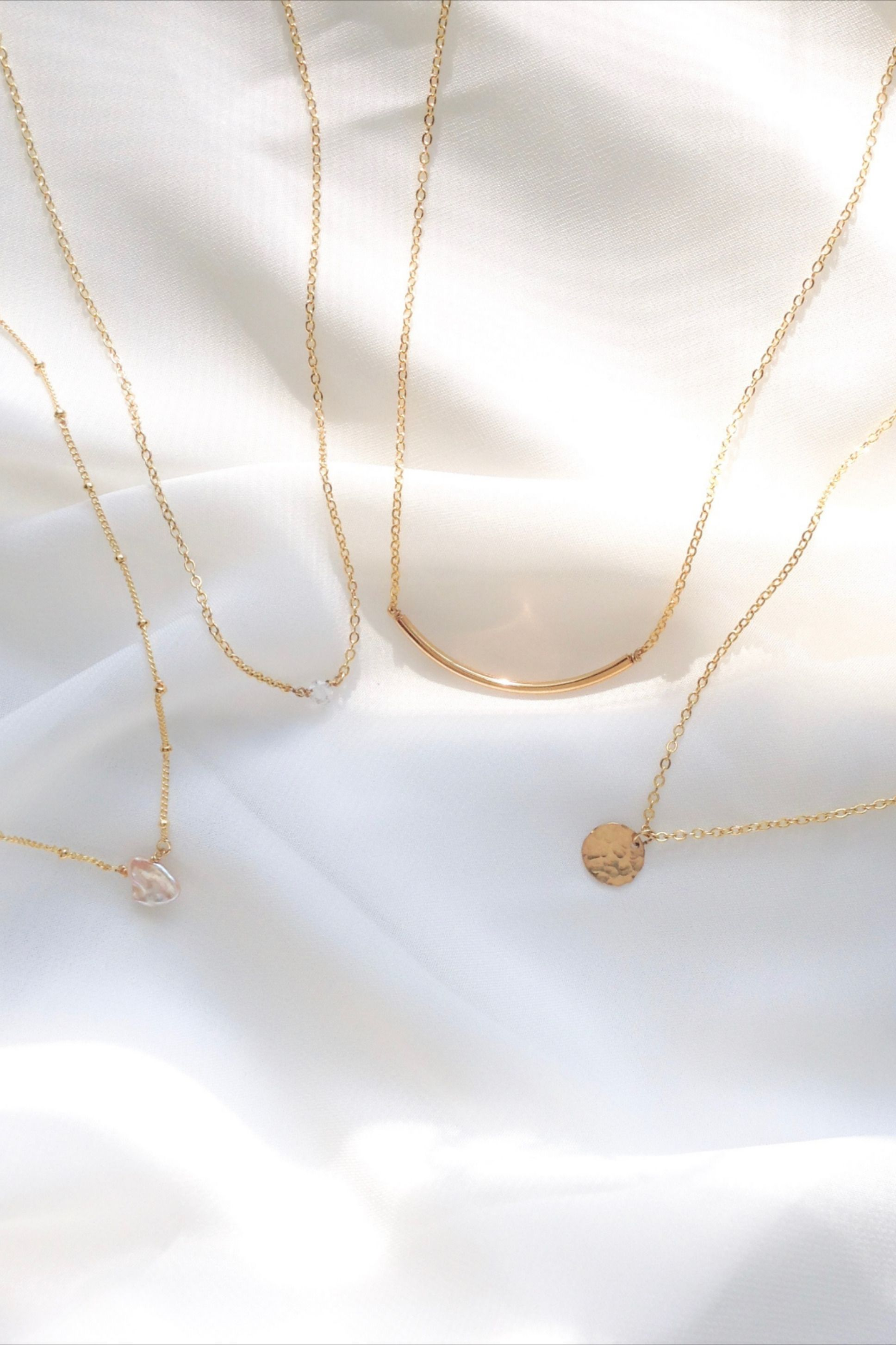 Photo of Dainty Everyday Necklaces | IB Jewelry