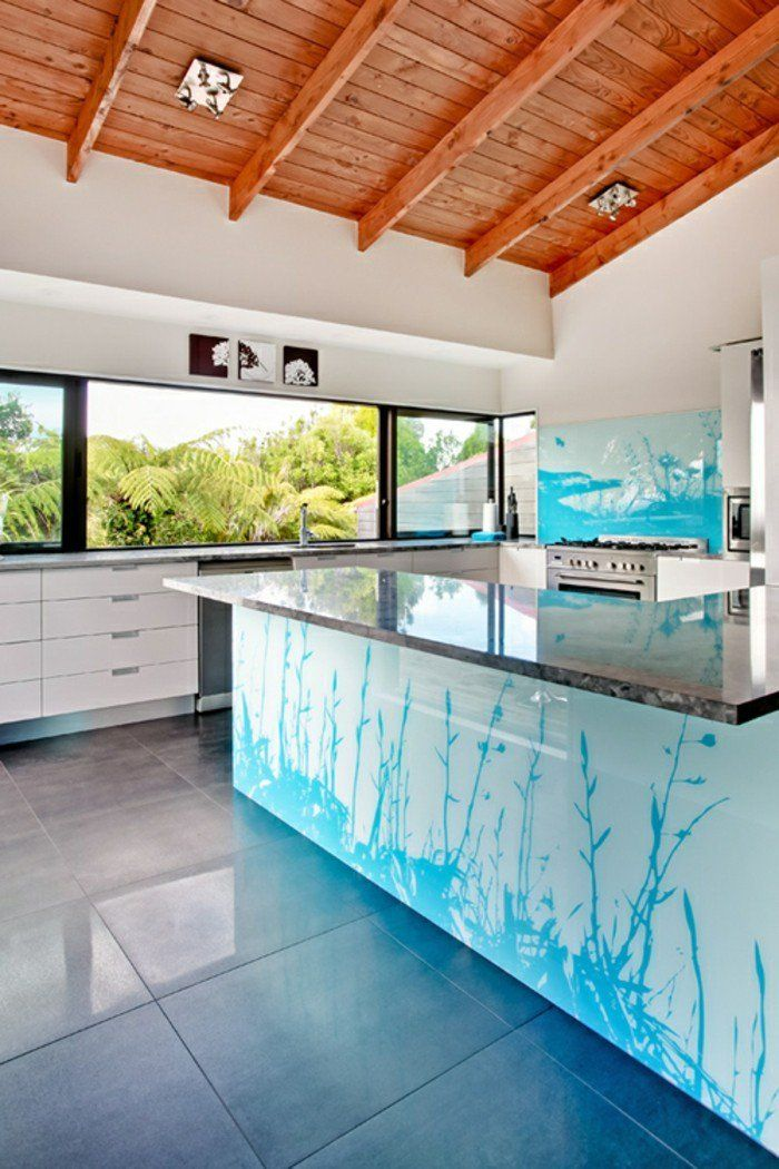 Peppen Sie jeden Wohnraum durch bedrucktes Glas auf Dekoration