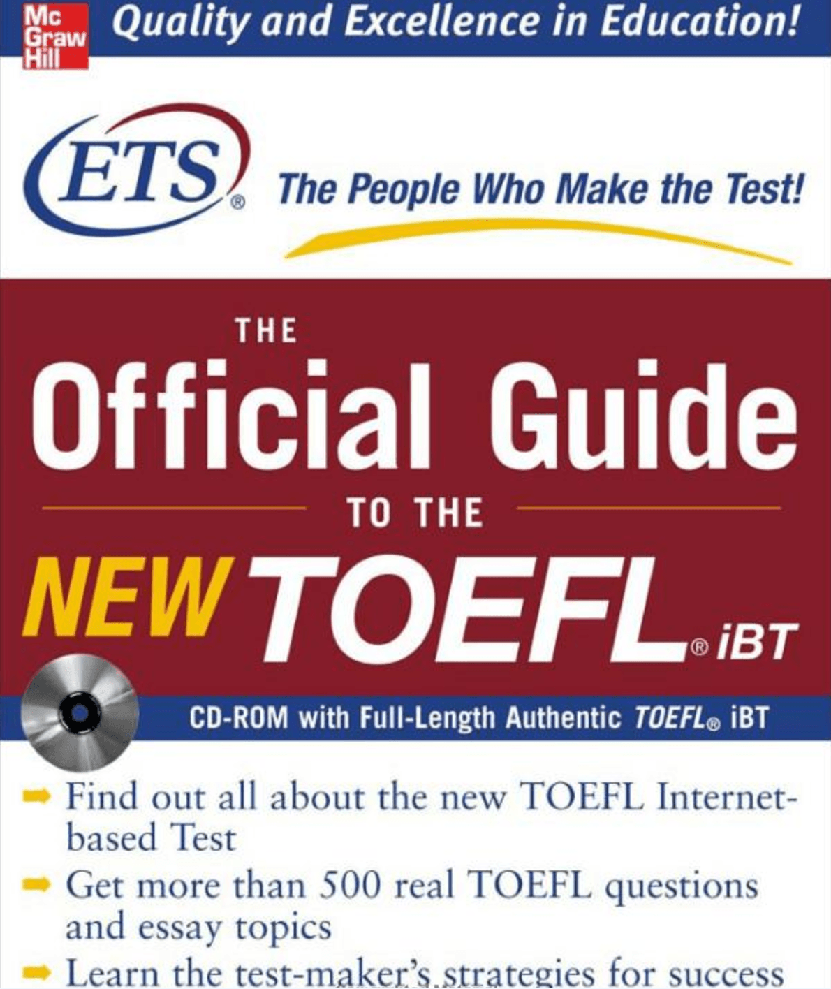 Free Download The Official Guide to the New TOEFL iBT (Ebook + Audio