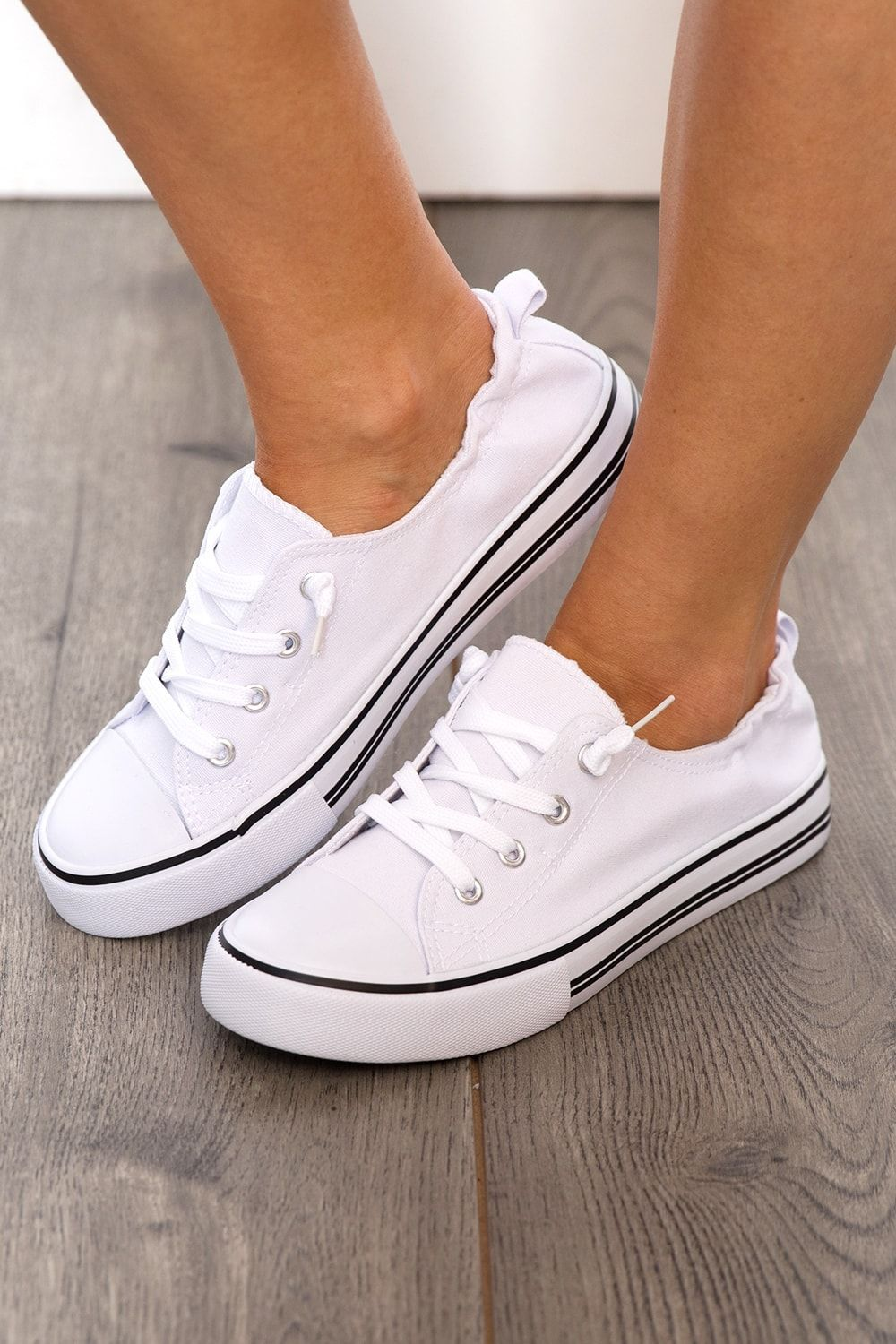 White tennis shoes, Sneakers
