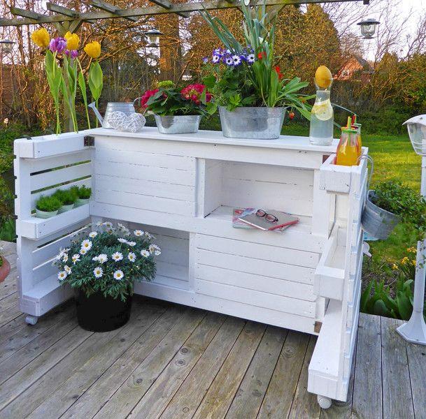 Loungemöbel   Palettenmöbel   Garten Regal / Garten Bar   Ein Designerstück  Von Palettery Bei DaWanda