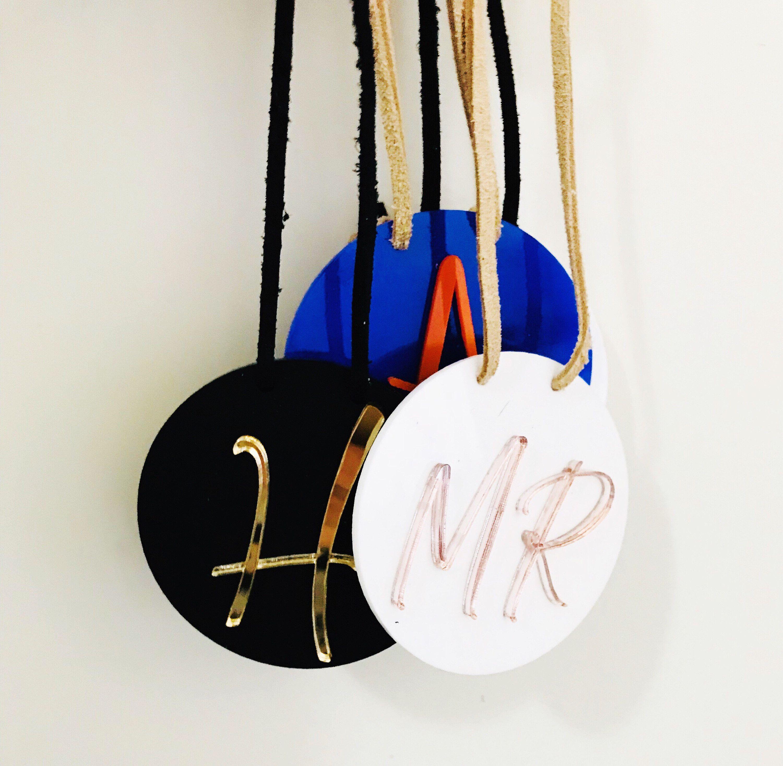 4e801dd59847 Personalised Bag Tag- Name Tag/Suitcase Tag/Luggage tag/Name id tag ...