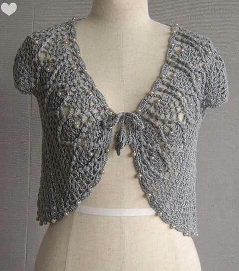 Pin von ROMERO MARIA auf vestir en crochet   Pinterest