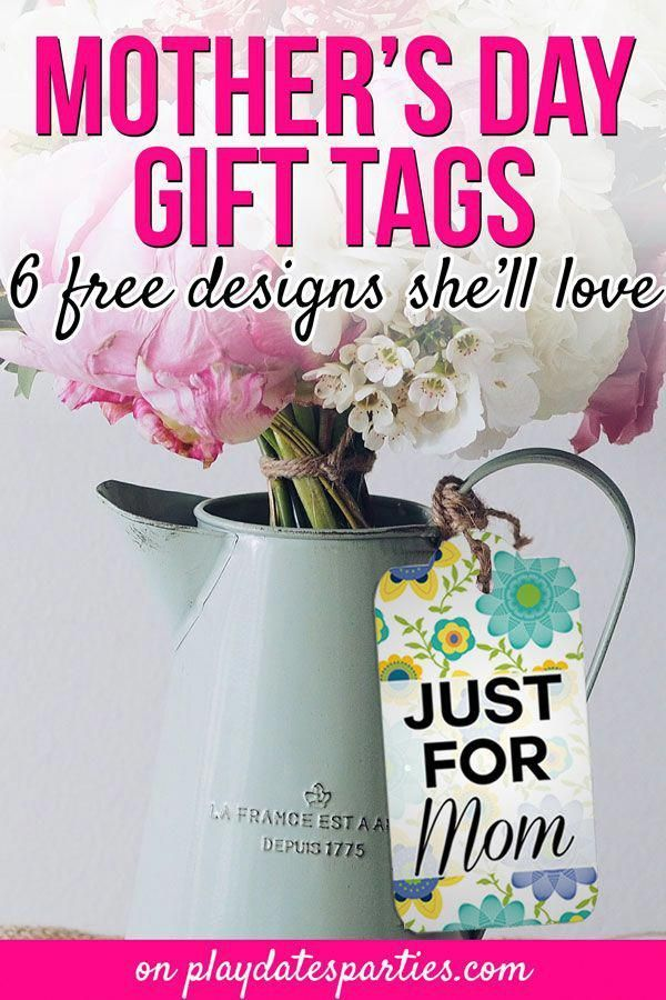 Looking for Mother's Day gift ideas to give her this year? These free printable Mother's Day gift tags are the perfect way to top off creative handmade gifts from kids. They just as great on a mason jar as they do on a last minute bouquet of flowers. Mother's Day gifts may be inexpensive and easy, but they don't have to look that way with this thoughtful touch