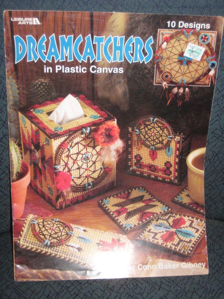 DREAMCATCHERS Leisure Arts Plastic Canvas Pattern Booklet 1921 RARE for sale online | eBay
