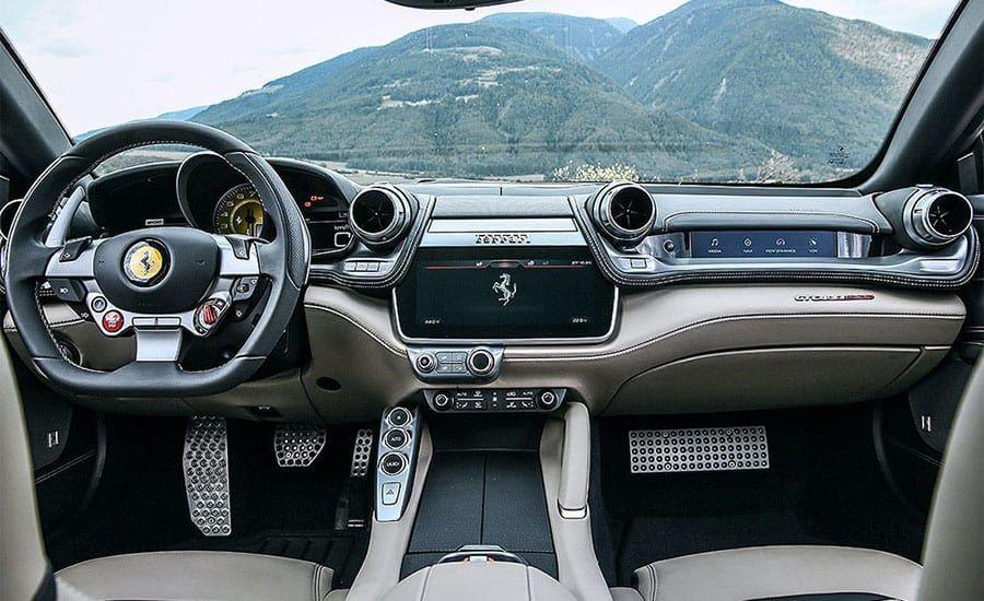 2017 Ferrari Gtc4 Lusso Interior