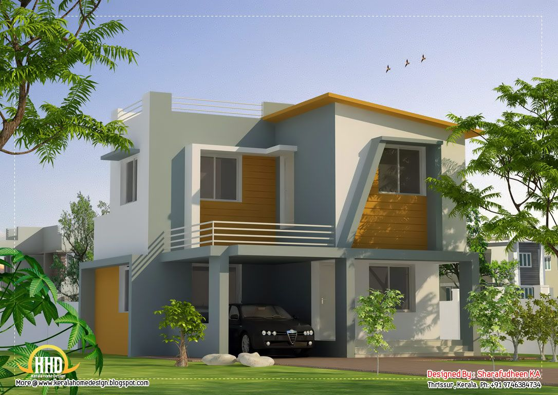 Modern kerala home plans – House of samples - ^