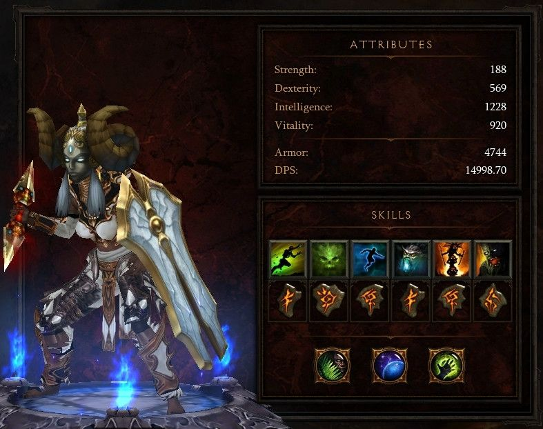 d3 witch doctor build