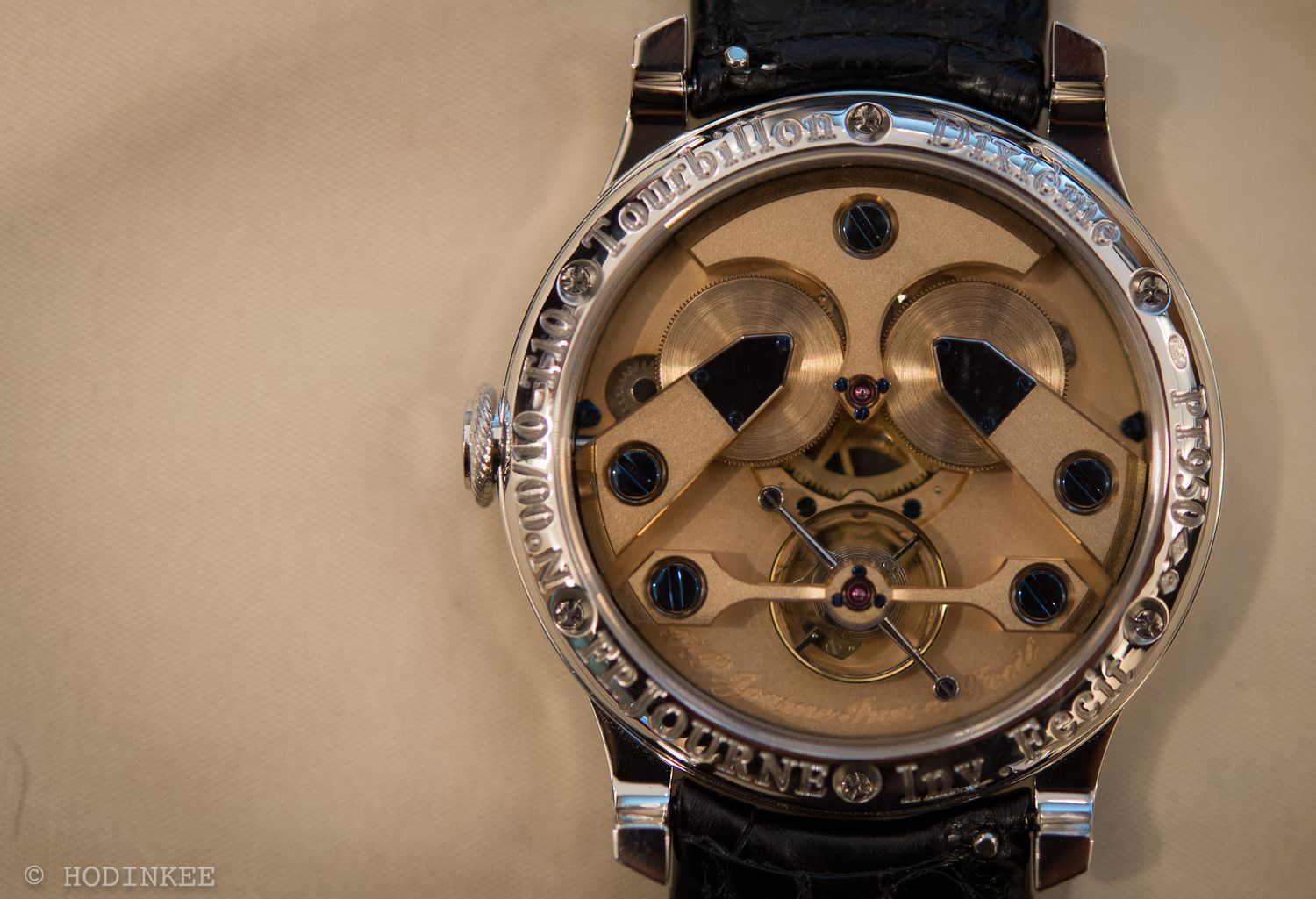 A Platinum Tourbillon Limited To Just Ten Pieces, Whose Owners Are Selected At Random