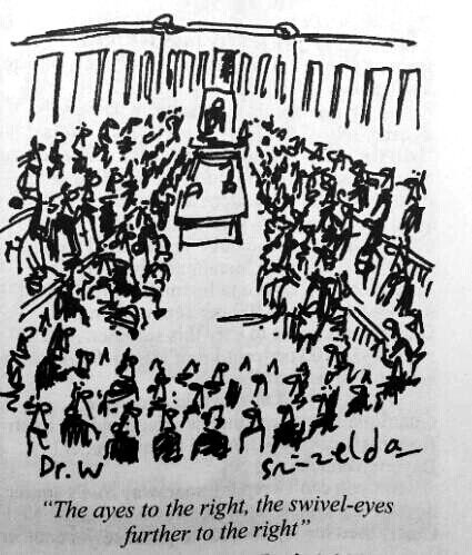 Thanks to Private Eye