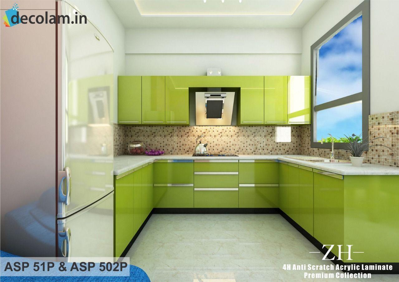 Acrylic Laminates Kitchen Kitchen Laminate Kitchen Laminates