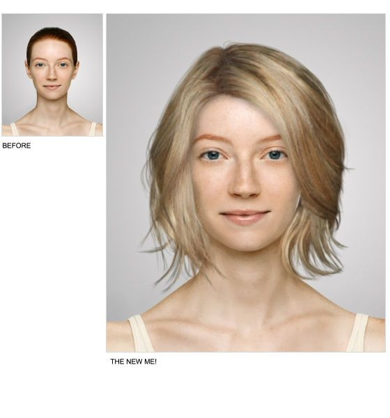 Virtual Hair Makeover: Hair Styles, Virtual Makeover, Celebrity Hairstyles