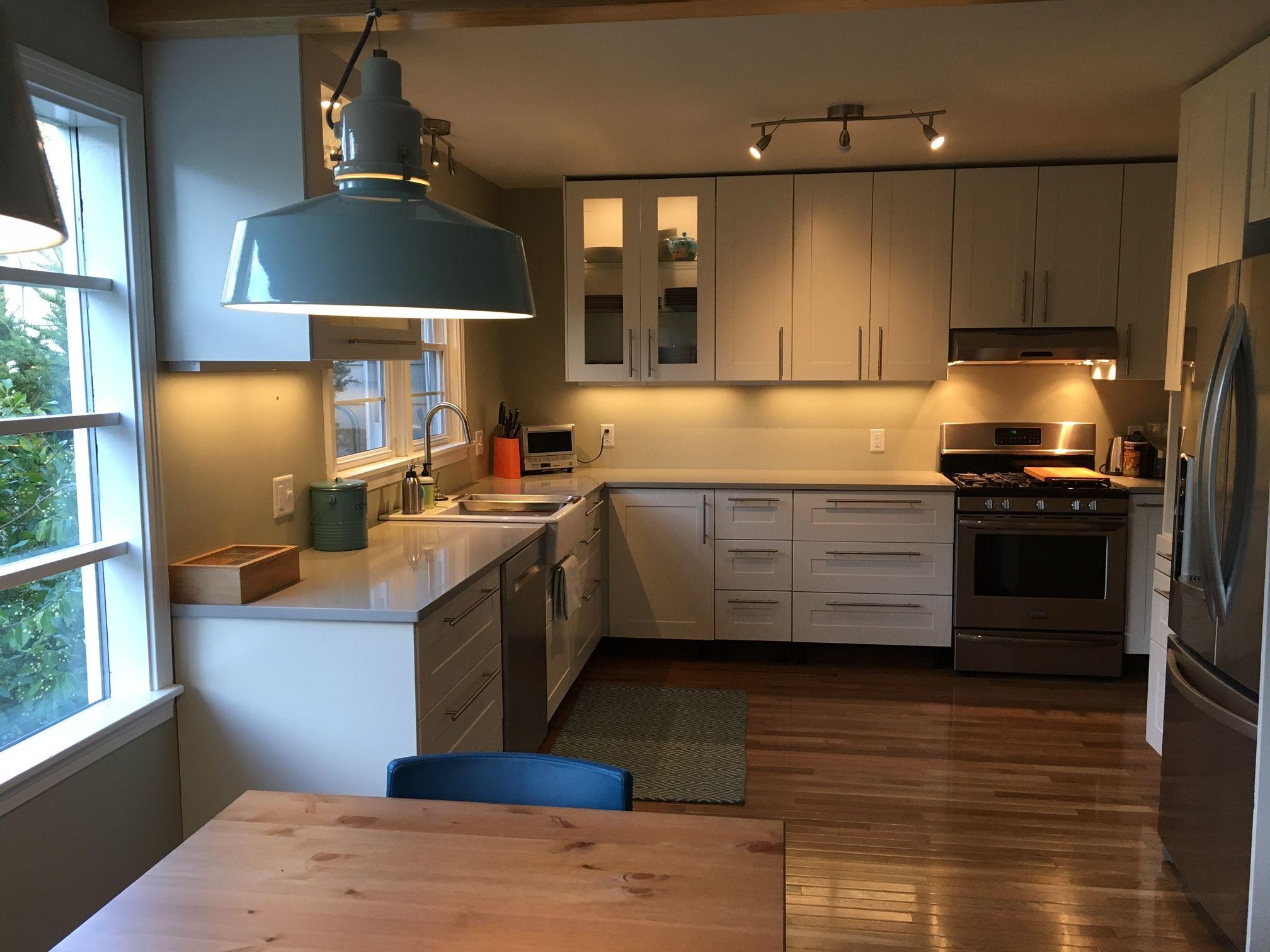 Best A Gorgeous Modern Ikea Kitchen Renovation In Upstate New 400 x 300