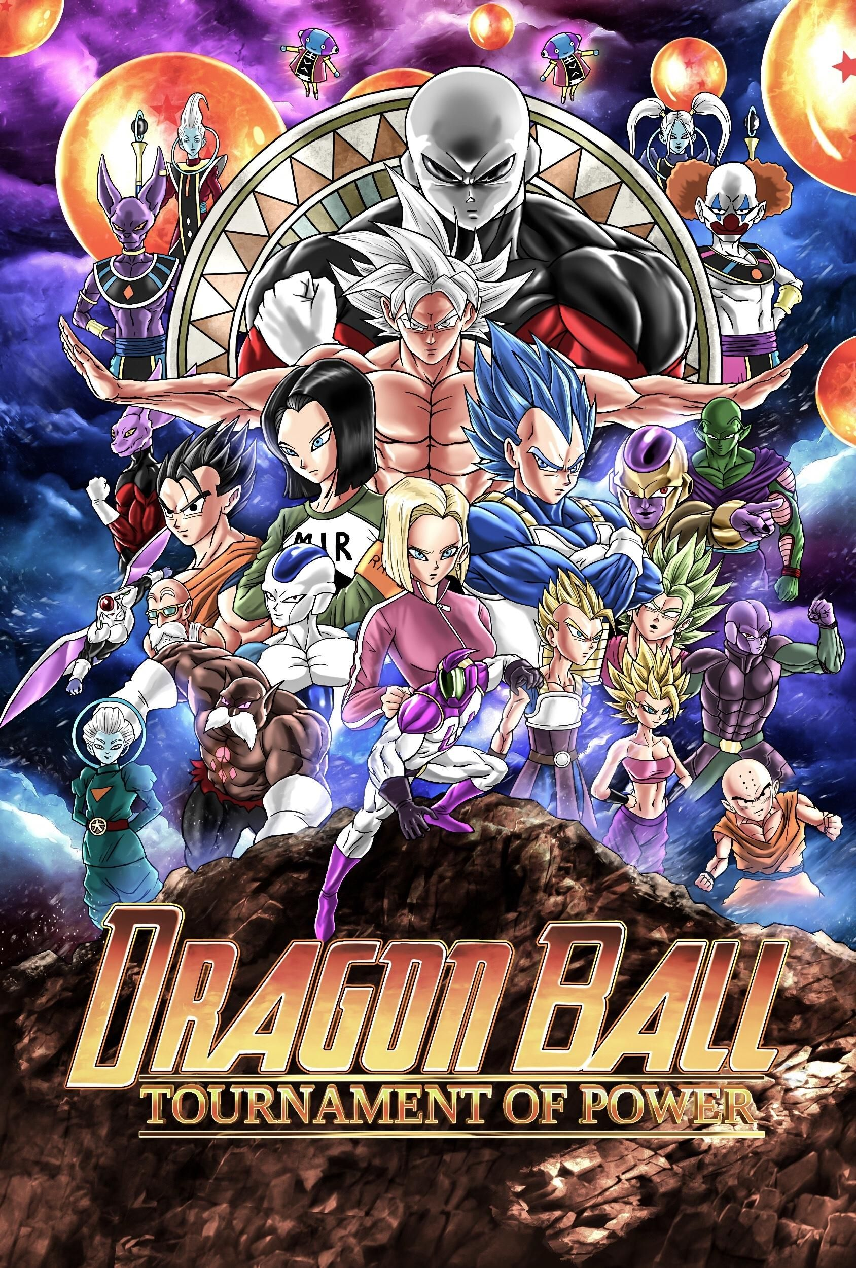 'Dragon Ball Super' Poster Turns The Tournament of Power