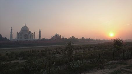 Mehtab Bagh - Sunset Point Taj Mahal