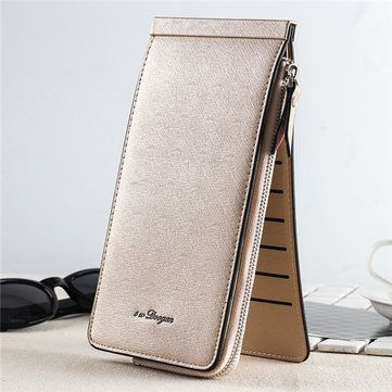 Women men 26 multi card holder ultrathin pu leather zipper business women men 26 multi slots card holder ultrathin pu leather zipper business card case phone bags sales at a good price come to newchic to buy a wallet reheart Choice Image