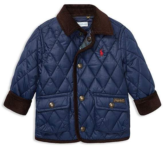 4433da8cc09f Polo Ralph Lauren Boys  Quilted Car Coat - Baby
