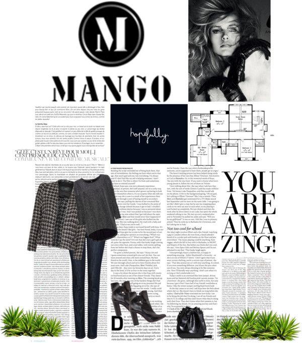 """Mango 3"" by saretta2905 ❤ liked on Polyvore"