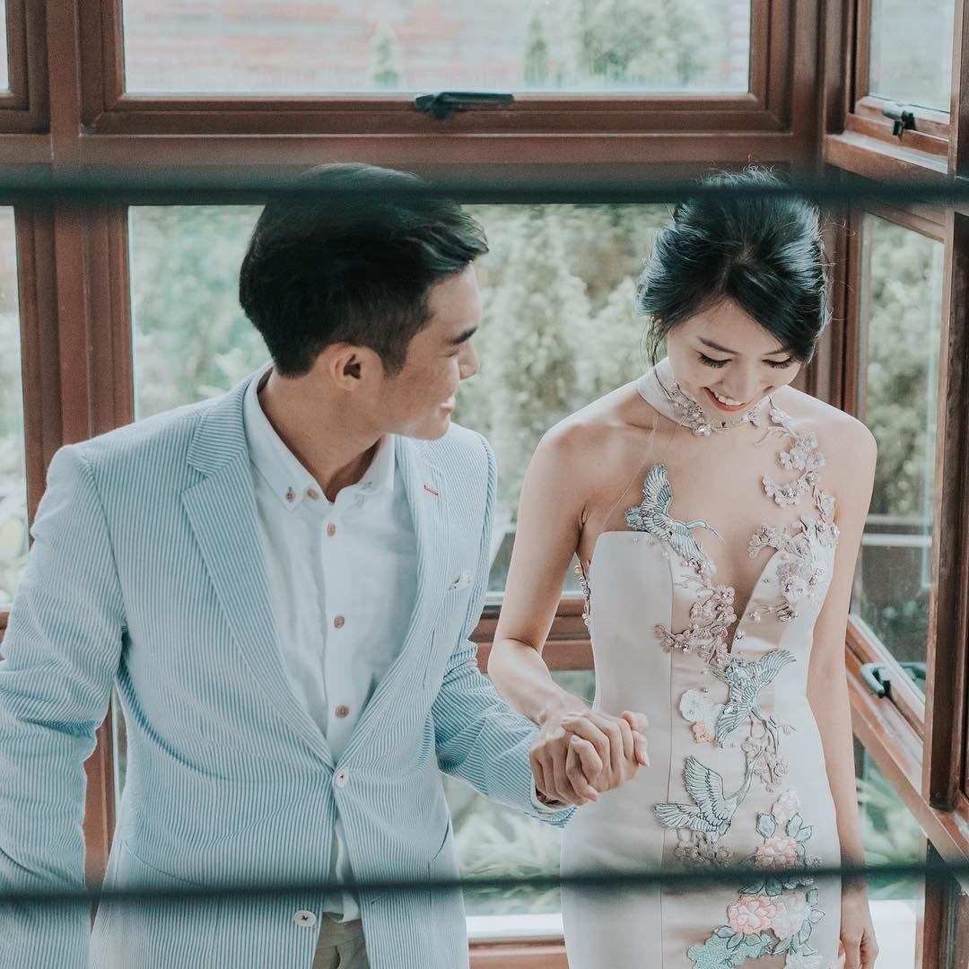 ☆Beautiful Embroidered Qipao Wedding Gown   Melissa Celestine Koh ...