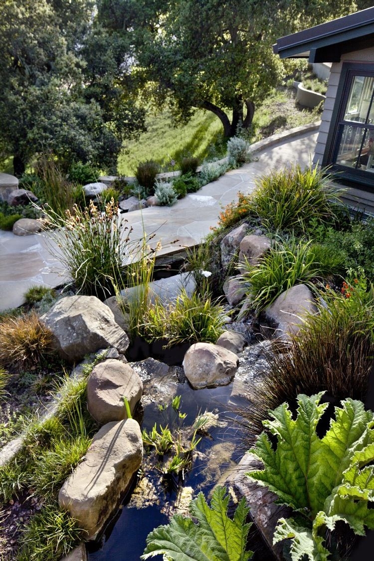 Arterra Landscape Architects Designed A Water Feature That Looks