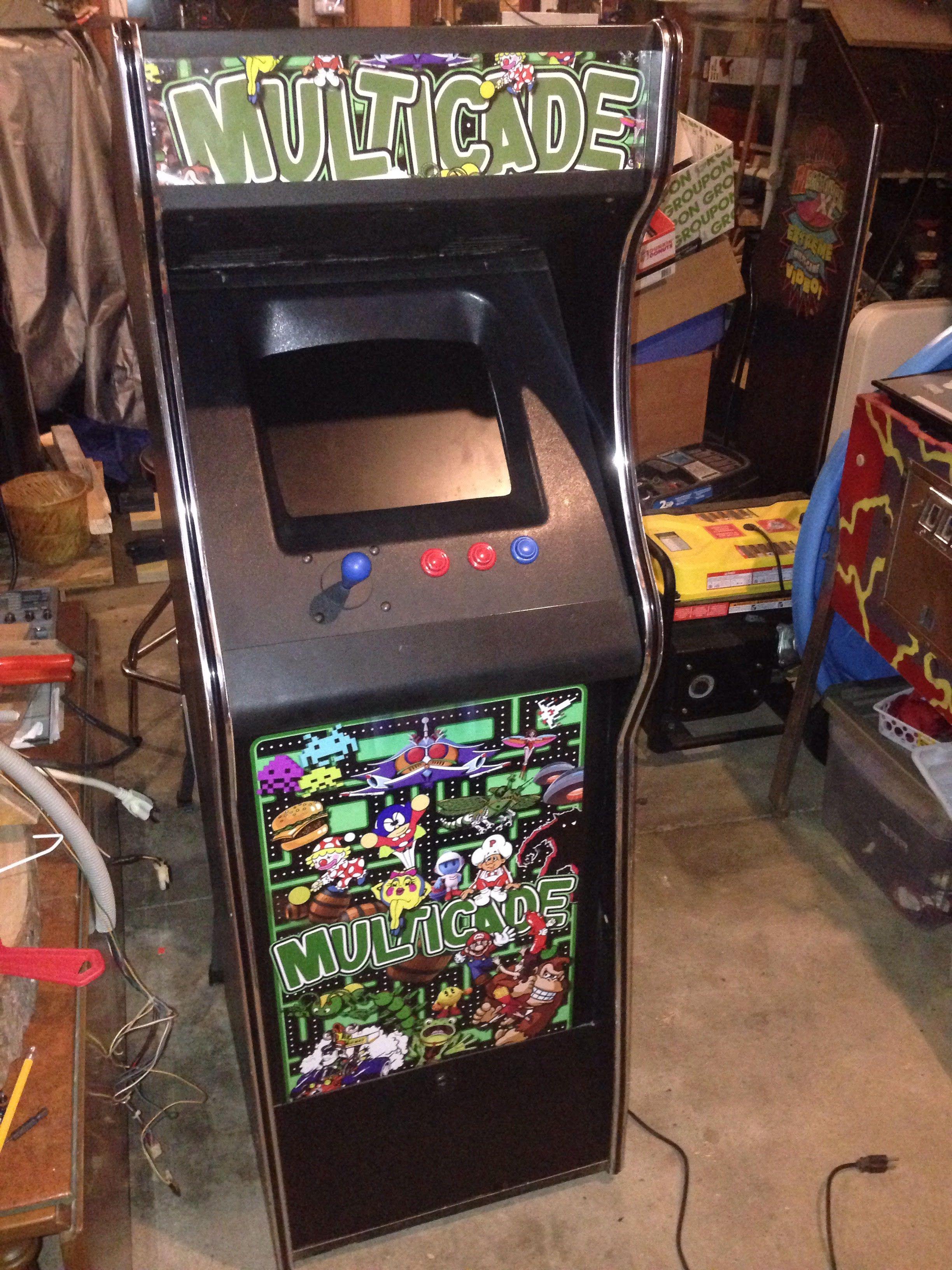Multicade looking good Arcade, Pinball, Gaming products