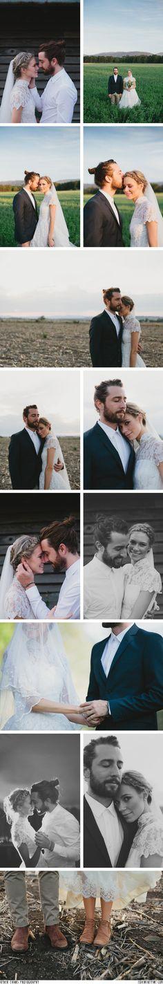 Schaut euch in die Augen! Sehr schöne Paarfotografie! #Hochzeitsfotos #Hochzeit Ryder Evans Photography of Naomi and Caleb's wedding // FOXINTHEPINE.COM