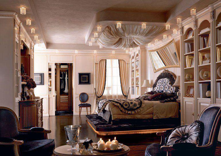 Bedroom set EMOZIONI Luxury Night Area Collection by Martini Mobili