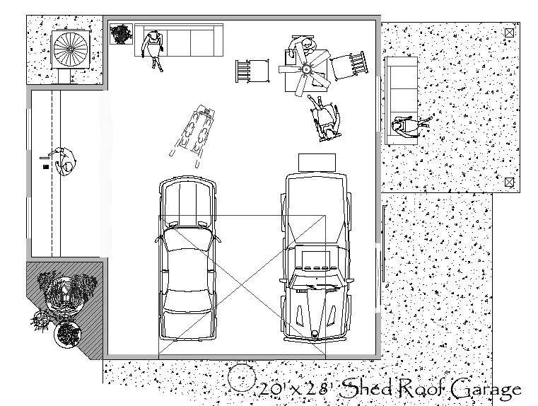 garage floor plan designer