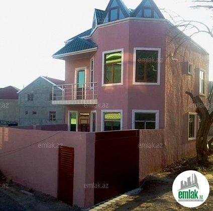 Satilir 4 Otaqli 200 M2 Ev Villa Həzi Aslanov Xətai Rayonu Nobel Prospekti H Aslanov Qəsəbəsi Unvaninda House Styles Outdoor Decor House
