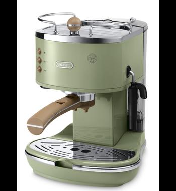 De'Longhi Icona Vintage ECOV311.GR Groen Espresso coffee