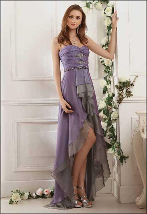 Vera Wang Prom Dresses | Vera Wang Bridesmaids #PurpleAndGray ...
