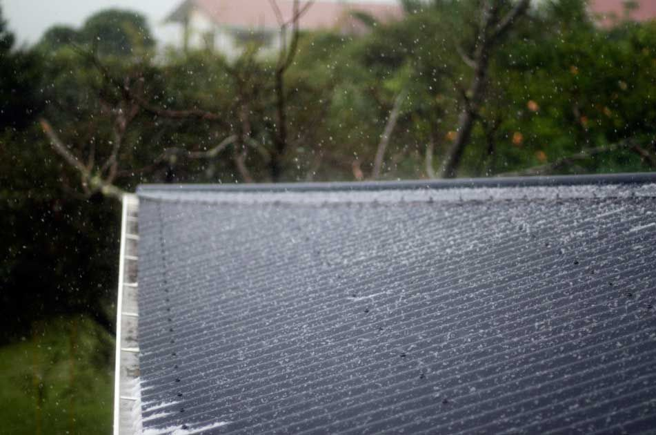Roof Damage After A Hail Storm In Texas Our Hail Storms Are Legendary Unfortunately That Means Bad News Fo Roofing Contractors Roof Problems Siding Repair