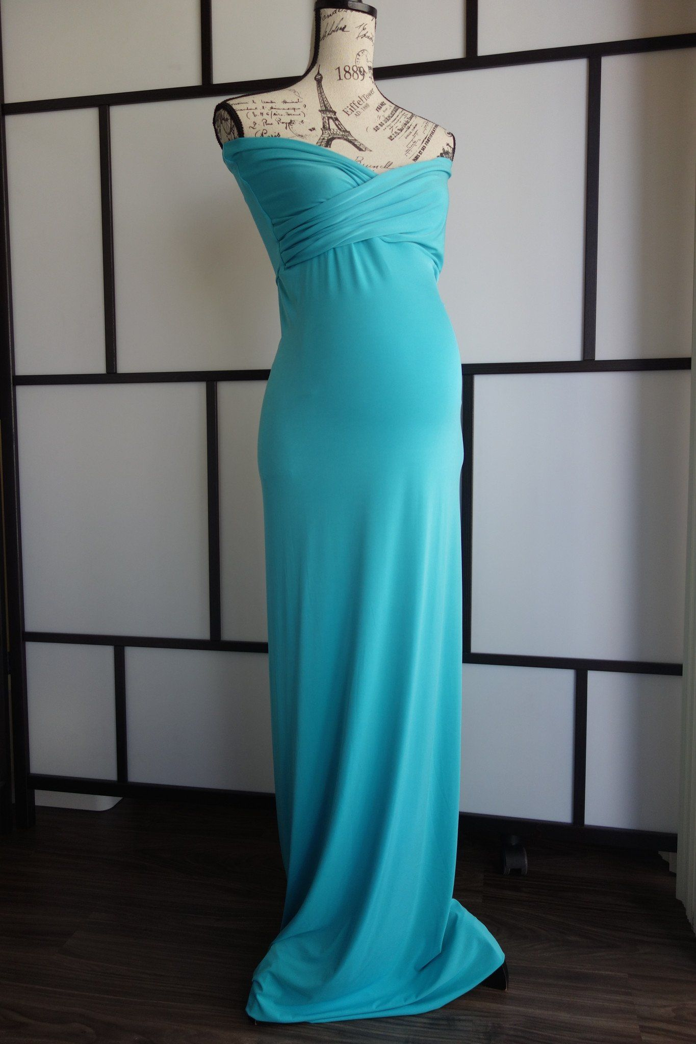 MIA fitted maternity dress - Miss Madison Boutique