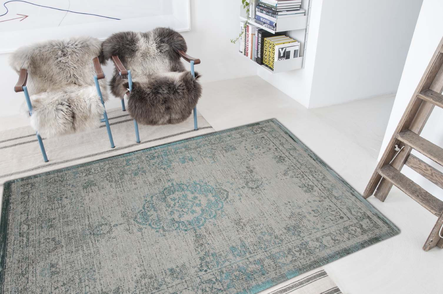 Fading World Jade Oyster 8259 Large Rugs For Living Rooms And Bedrooms From Louis De Poortere Fading World Collection Us Green Rug Luxury Rug Medallion Rug