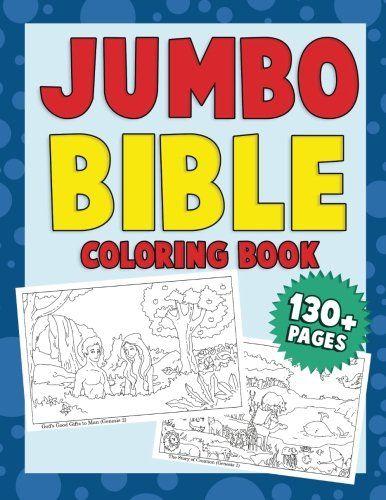 Jumbo Bible Coloring Book A Fun Beginner Learning