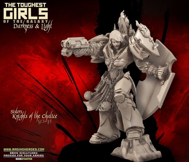 TGG2: Update #50 – Knights of the Chalice (Sisters - Sci-Fi) | Raging Heroes