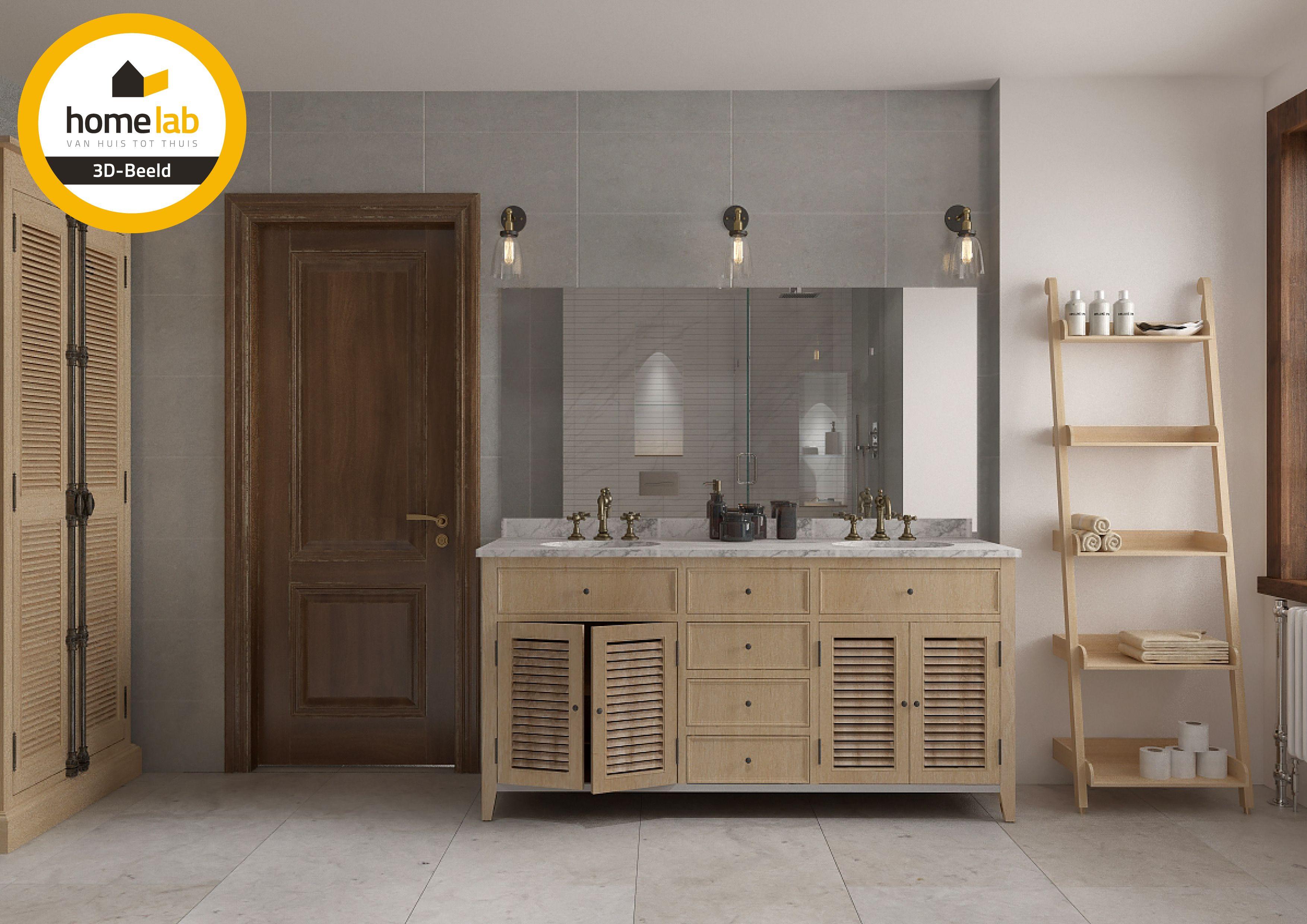 homelab badkamer renovatie pand te leuven | berlaarbaan leuven, Badkamer