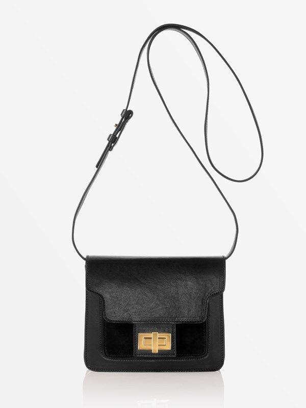 70f8f40e91263 ATP Atelier bag Aiale Black Suede/Avancorpo #atpatelier #aw16 #madeinitaly # bag