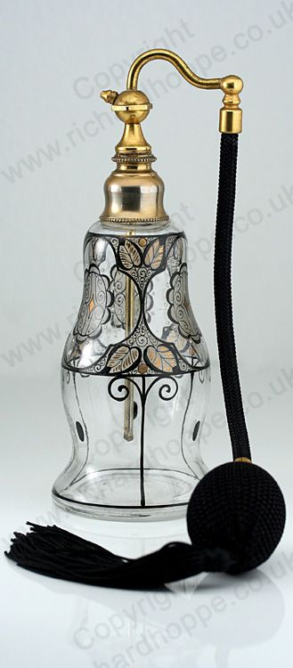 CLEAR GLASS SCENT PERFUME SPRAY