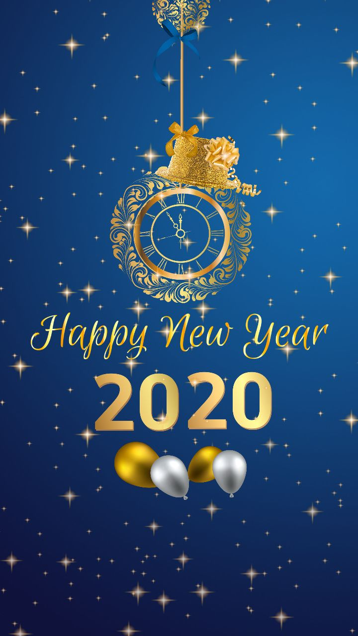 Happy New Year 2020 Mobile Wallpaper Mobile Wallpaper New Wallpaper Hd New Year 2020